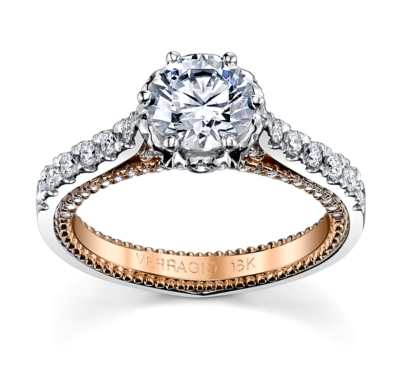 Wedding Ring Tacori 82 Cute Rose gold engagement rings
