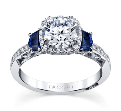 Tacori Crescent Wedding Band 60 Great Tacori engagement rings with