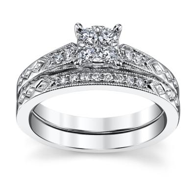 Designer Wedding Sets Engagement Rings at Robbins Brothers
