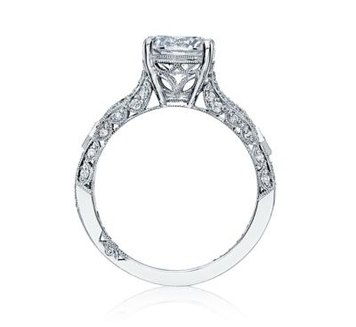 ... Tacori Platinum Diamond Engagement Ring Setting 1/3 cttw