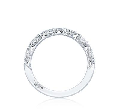 tacori 18k white gold diamond wedding band 13 cttw - Tacori Wedding Ring