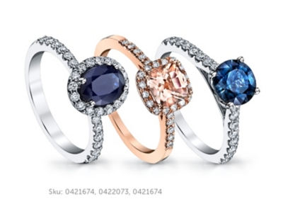 blossom engagement ring