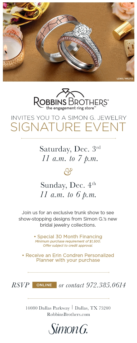 Signature Event at Robbins Brothers Dallas