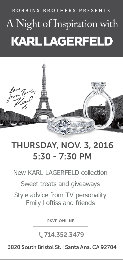 Costa Mesa - Karl Lagerfeld Collection Event