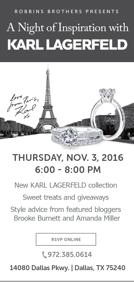 Dallas - Karl Lagerfeld Collection Event