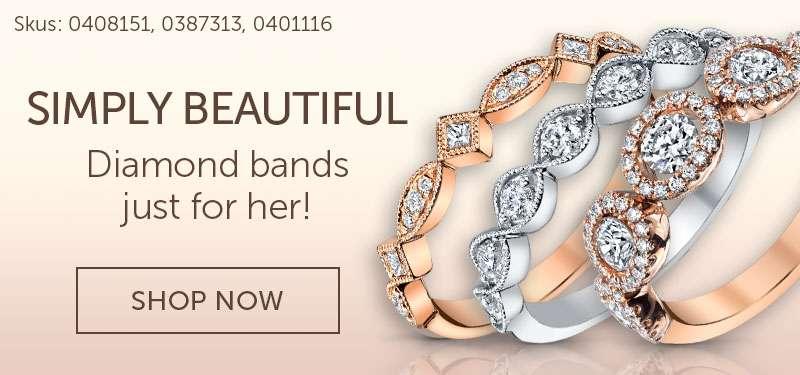 Women's Diamond Band
