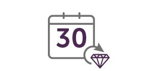30 Day Money Back Icon