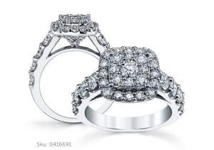 Mosaic Engagement Rings