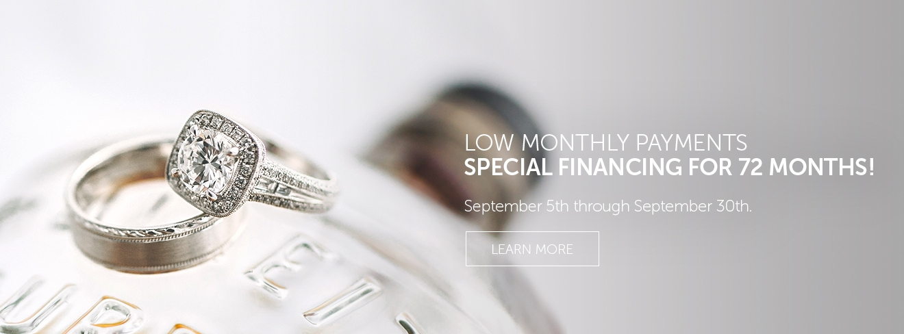 SPECIAL FINANCING FOR 72 MONTHS! NOW THROUGH SEPTEMBER 30TH