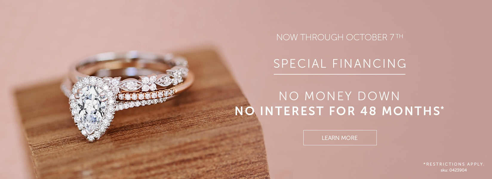 PECIAL FINANCING FOR NO INTREST FOR 48 Months*