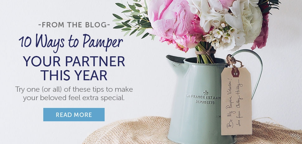10 Ways To Pamper Your Partner
