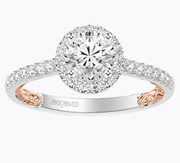 ArtCarved Engagement Ring