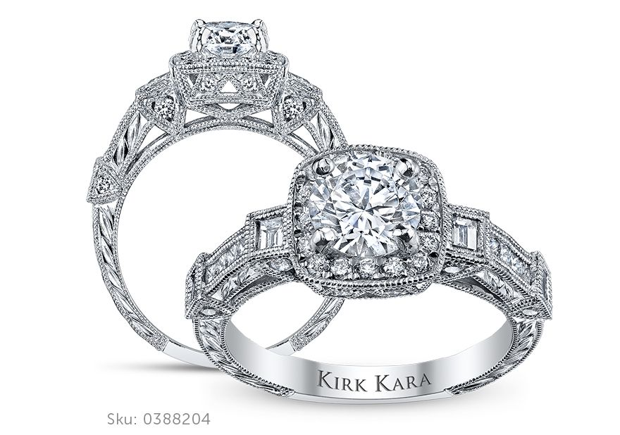 Kirk Kara Engagement Ring