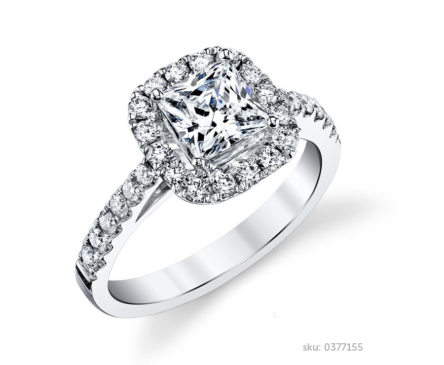 Halo Engagement Rings For Celebrity Style