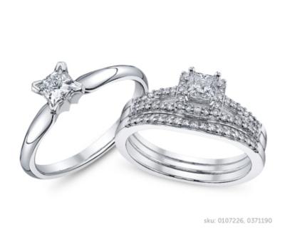 Princess Cut Engagement Rings Robbins Brothers