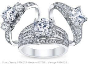 signature engagement ring