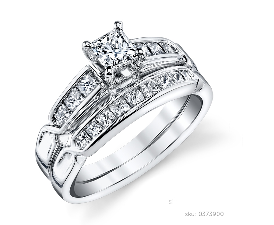 wedding ring - Engagement And Wedding Ring Sets