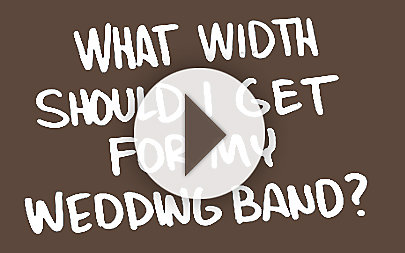 What width should I get for my wedding band? video