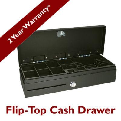 FLIPTOP CASH DRAWER;EPSON INTFSTAINLESS