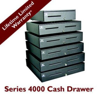 S4000,HARDWIRED EPSON TM SERIES, BLACK,