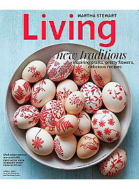 Martha Stewart Living – April 2013