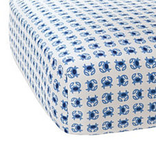 Crab Crib Sheet – Blue