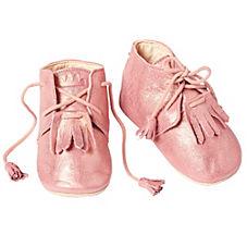 Easy Peasy® Mexi Booties – Metallic Pink