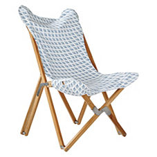 Captiva Butterfly Chair – Chambray