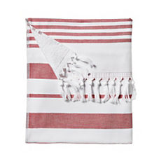 Fouta Beach Towel – Nantucket Red