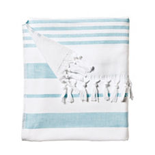 Fouta Beach Towel – Aqua