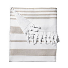 Fouta Beach Towel – Bark