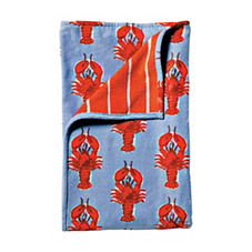 Lobster Beach Towel – Chambray/Tomato