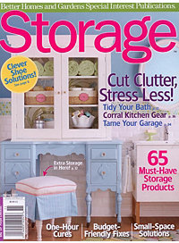Better Homes and Garden - Storage Spring 2011