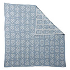 Owl Baby Blanket – Air/Chambray