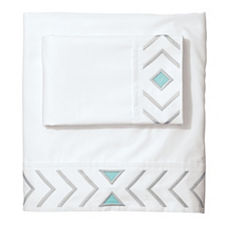 Cloud/Aqua Canyon Sheet Set