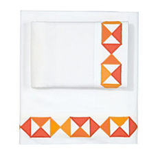 Tangerine Flag Sheet Set
