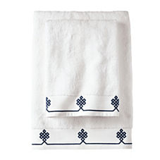 Navy Gobi Bath Towels