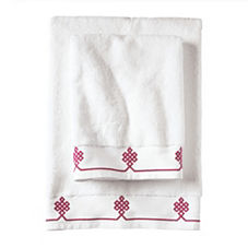 Berry Gobi Bath Towels