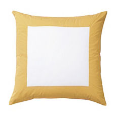 Color Frame Euro Sham – Goldenrod