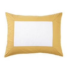 Color Frame Standard Sham – Goldenrod