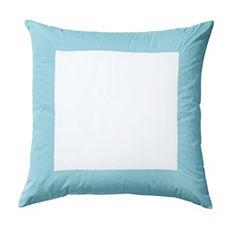 Color Frame Euro Sham – Aqua