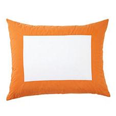 Color Frame Standard Sham – Cantaloupe