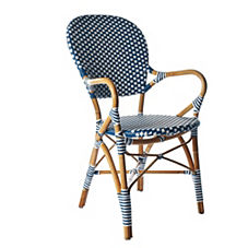 Riviera Arm Chair – Navy