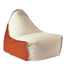 Newport Lounger – Persimmon/Ivory