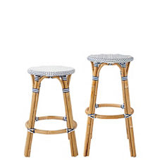 Riviera Backless Stools – Navy