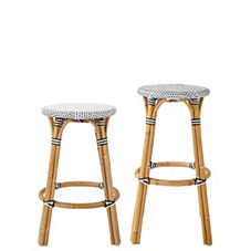Riviera Backless Stools – Black