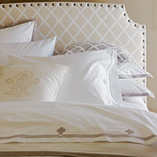 Bark Border Frame Duvet & Shams