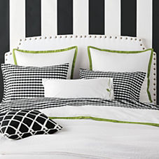 Border Frame Duvet Cover & Shams – Grass