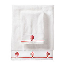 Coral Gobi Bath Towels