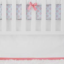 Nursery Basics Crib Skirt – Punch